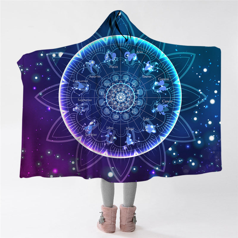 Zodiac Hooded Blanket - The Hoodie Store