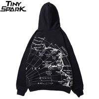 World Map - Hip Hop Hoodie - The Hoodie Store