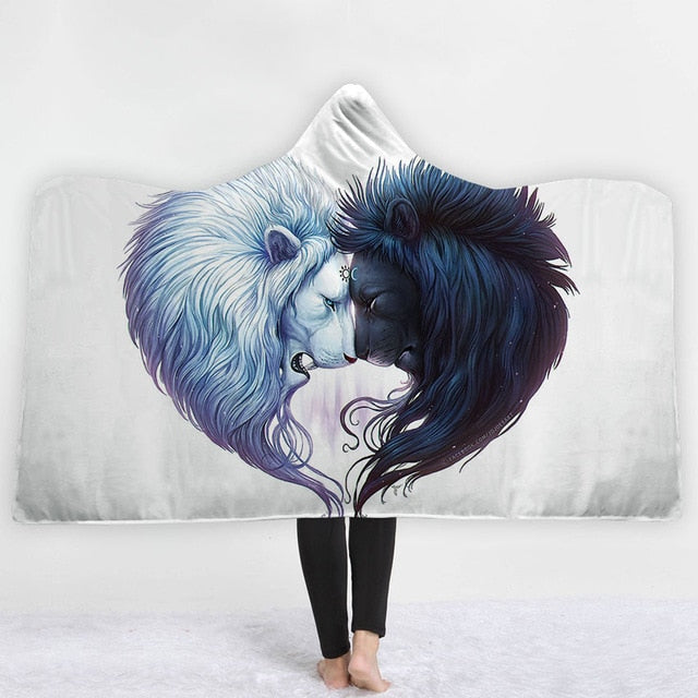 Animal Hooded Blanket - The Hoodie Store