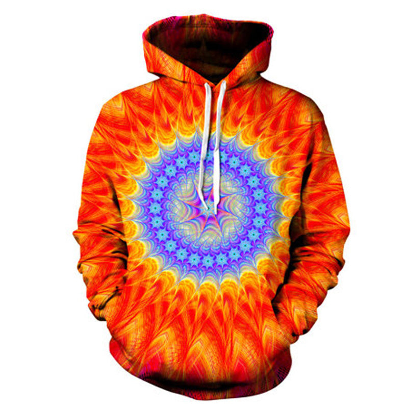 fa93ace859b9 Geometric Abstract 3D Printed Hoodie