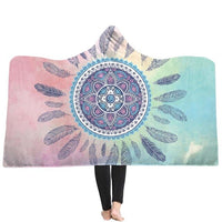 Neon Dream Catcher Hooded Blanket - The Hoodie Store