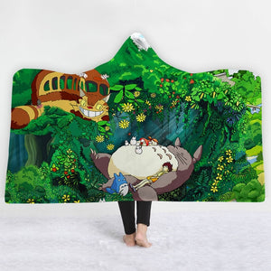 3D Animal monster Hooded Blanket - The Hoodie Store