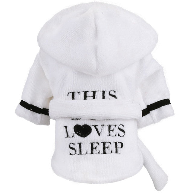 Pajamas Bichon Hoodies For Cat & Dog - The Hoodie Store