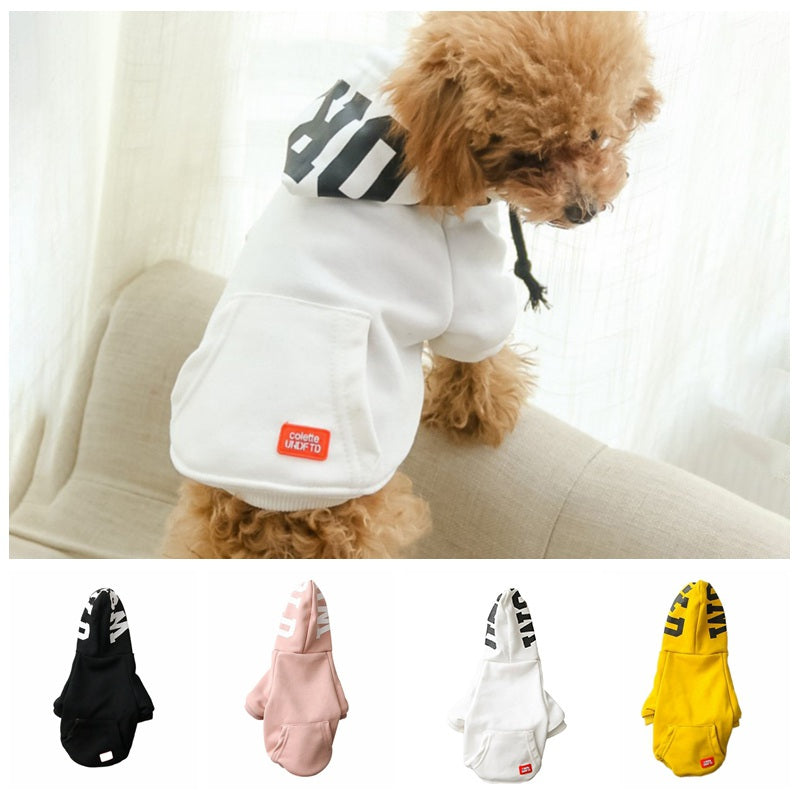 Dog Soft Cotton Hoodies With Print in Hoods - The Hoodie Store