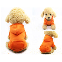 Winter Warm Hoodie Sweater For Dogs 7 Pets - The Hoodie Store
