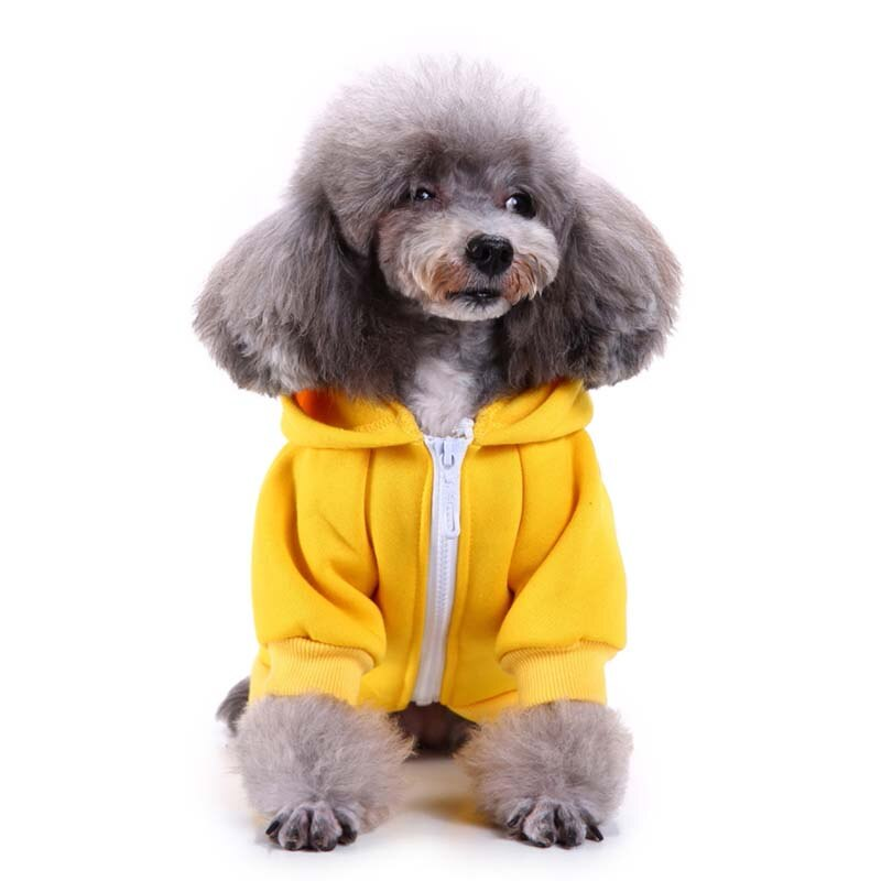 "Simple Hoodie With ""Love"" Print Hoodie For Dogs - The Hoodie Store"