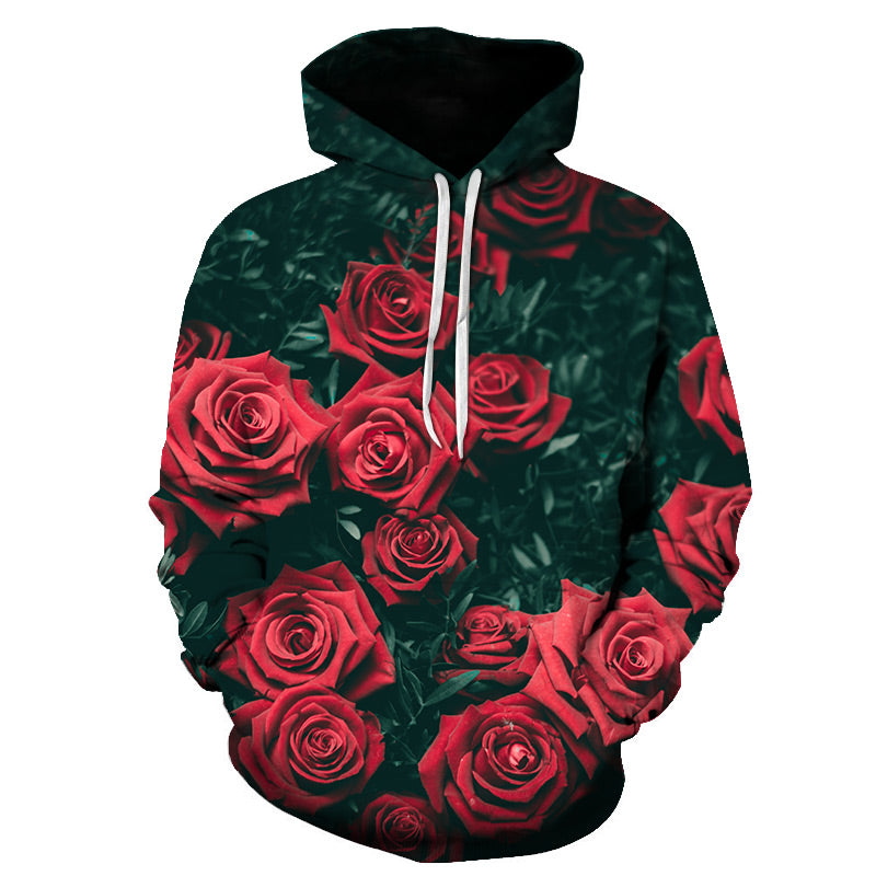 Latest 3D Flower Themed Hoodies - The Hoodie Store