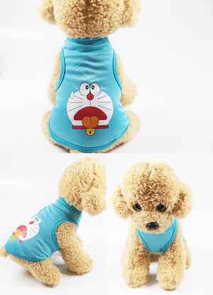 Famous Cartoon Printed Puppy's Warm Coat - The Hoodie Store