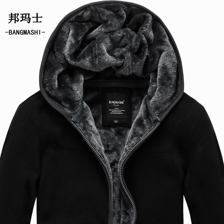 Autumn Plain Winter War Jackets For Men - The Hoodie Store