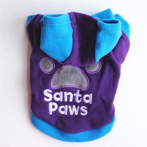 Cute Colored Winter Dog Hoodie - The Hoodie Store