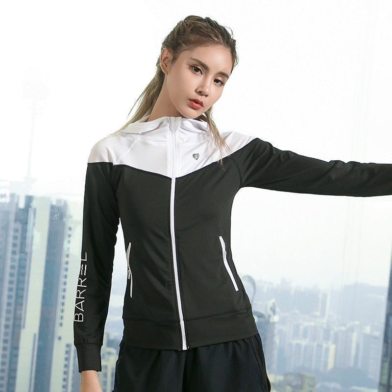 Color Blocked Gym Zip Jacket Womenswear
