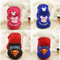 Superhero Logo Printed Dog's War Hoodies - The Hoodie Store