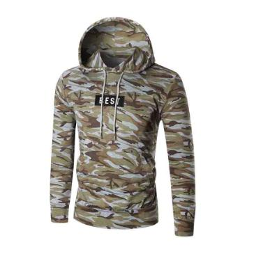 Winter Camoflage Casual Hoodie - The Hoodie Store