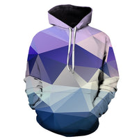 Geometric Hoodies 3D Man Streetwear - The Hoodie Store