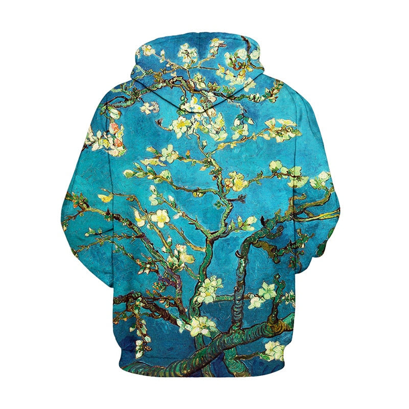 Women's Flower Tree 3D Aesthetic Japanese Style - The Hoodie Store