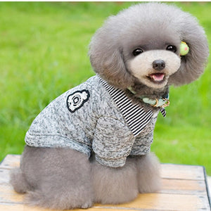 Warm Lapel Design Dog Clothes - The Hoodie Store