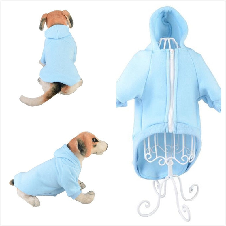 Elegant Plain Hoodies For Puppies & Dogs - The Hoodie Store