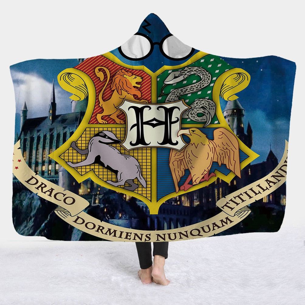 Harri Potter Hooded Blanket College - The Hoodie Store