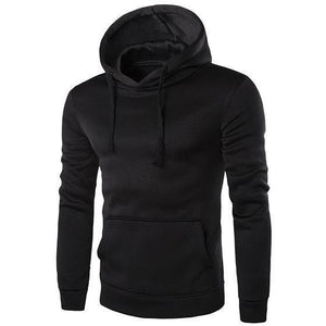 Solid Colour Pullover Hoodie - The Hoodie Store
