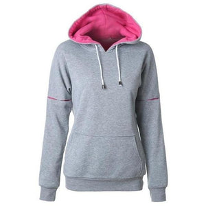 Womens Drawstring Front Pocket - The Hoodie Store