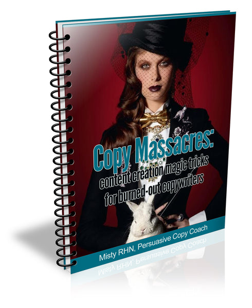 Copy Massacre: Content creation magic tricks for burned-out copywriters.