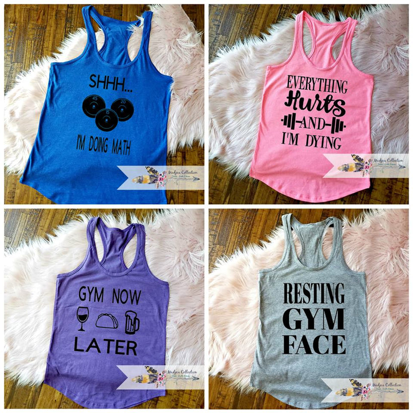 Workout Tank Tops