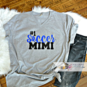 #1 Soccer Mimi Shirt. Change Name!