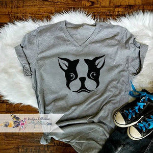 Boston Terrier Dog Mom Shirt