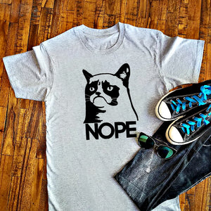 Grumpy Cat NOPE Shirt