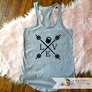 Love Weights Workout Tank