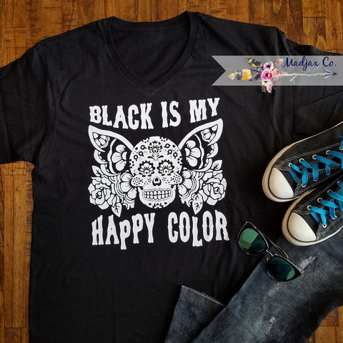 Black Is My Happy Color, Skull Shirt