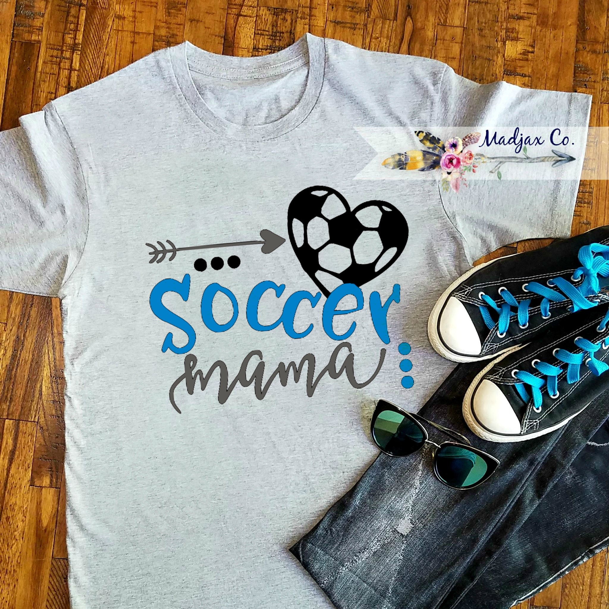 Soccer Mama Shirt 3 Color Options!
