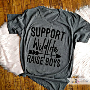 NEW** Support Wildlife --> Raise Boys Shirt