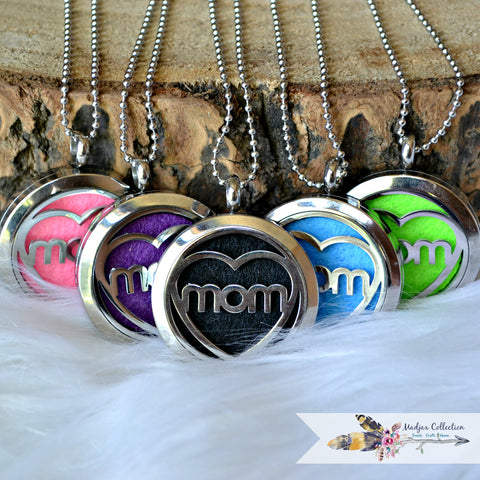 Essential Oils Mom Necklace. Photo Locket, too!