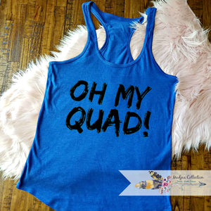 Oh My Quad! Workout Tank