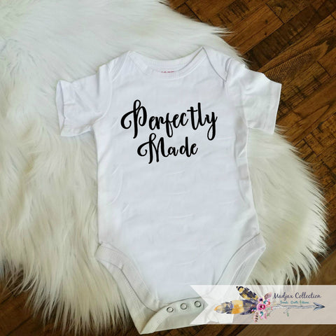Perfectly Made Onesie