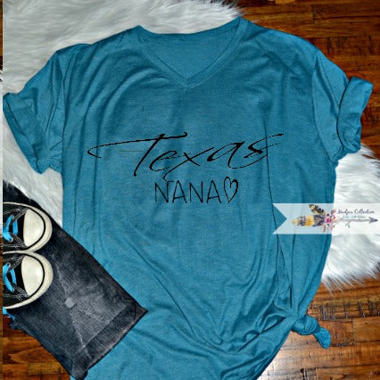 Texas Nana Shirt.  Change Name!