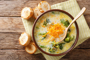 Vegan Broccoli Cheddah Soup