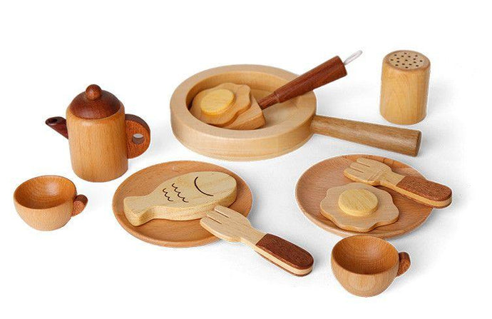 All Natural Wood Chef Set