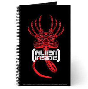 Alien Better World Black Notebook