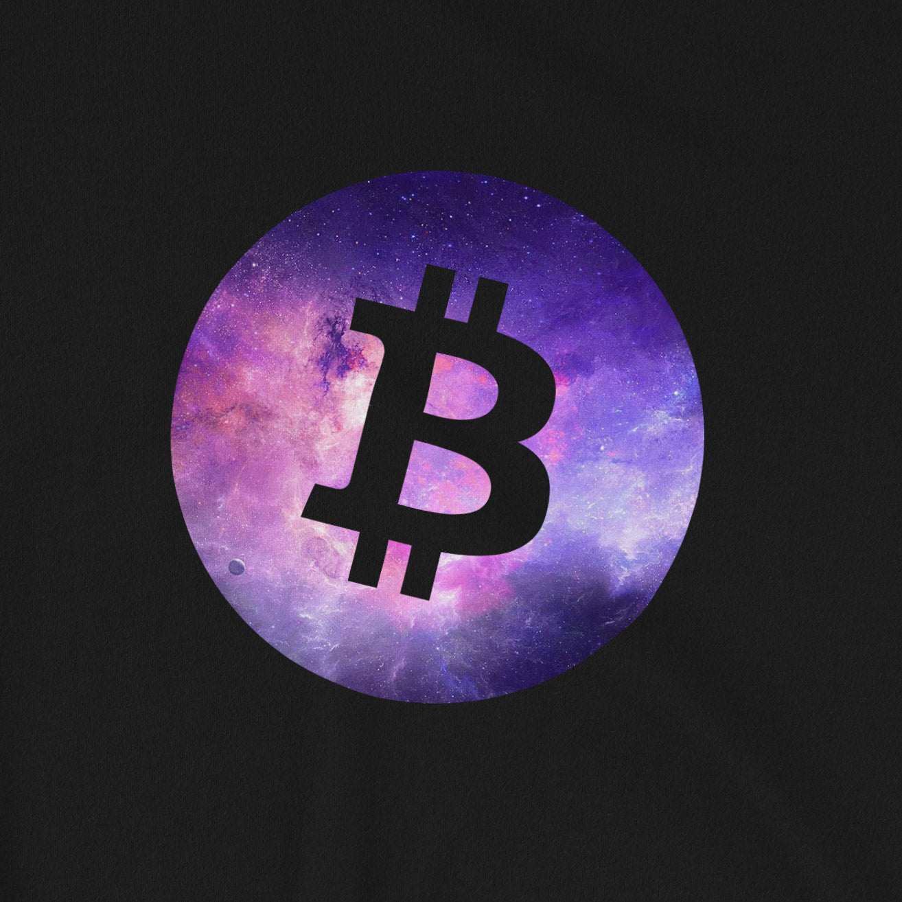 Bitcoin galaxy T-Shirt | Pattern collection - CryptoShirt.io