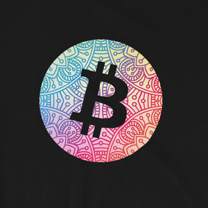 Bitcoin mandala T-Shirt | Pattern collection - CryptoShirt.io