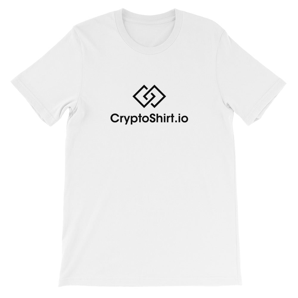 CryptoShirt T-Shirt | Black logo