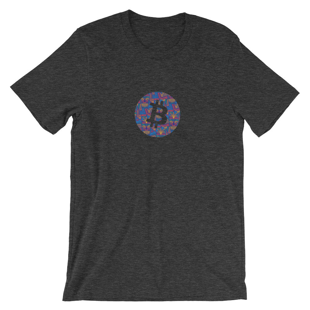 Bitcoin tiki T-Shirt | Pattern collection - CryptoShirt.io