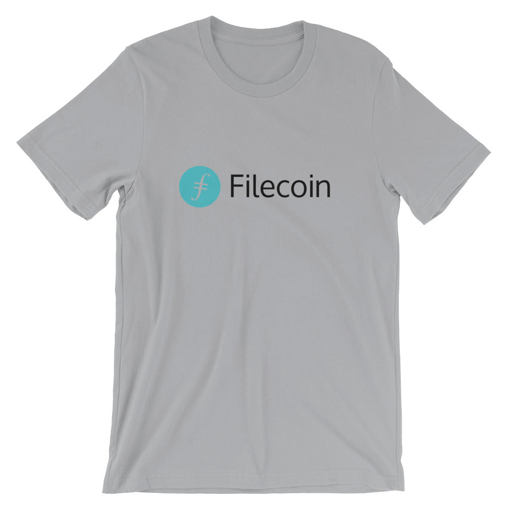 Filecoin T-Shirt | Color logo (dark) - CryptoShirt.io