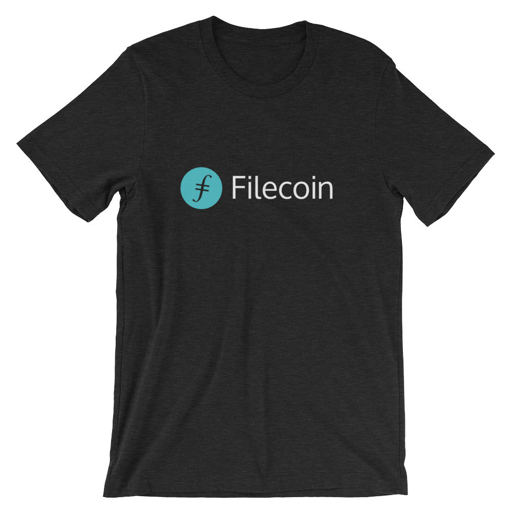 Filecoin T-Shirt | Color logo (light) - CryptoShirt.io