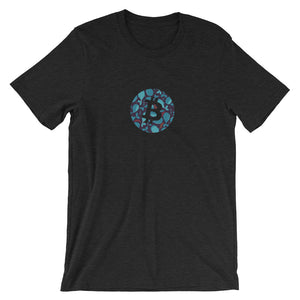 Bitcoin whales T-Shirt | Pattern collection - CryptoShirt.io