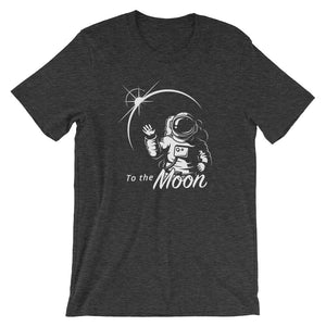 To the Moon T-shirt - CryptoShirt.io