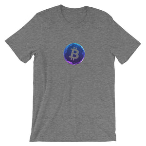 Bitcoin mesh sphere T-Shirt | Pattern collection - CryptoShirt.io