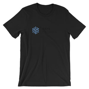 Safe Network T-Shirt | Color logo (black) - CryptoShirt.io